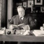 President Taft reading