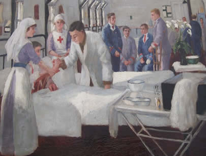 "Paul Smyth, ""Netley Hospital - 1918"""