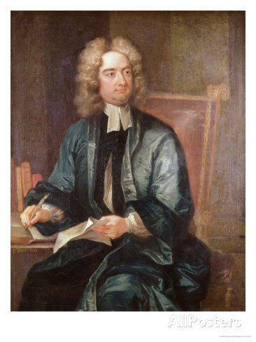 "Charles Jervas, ""Portrait of Jonathan Swift"""